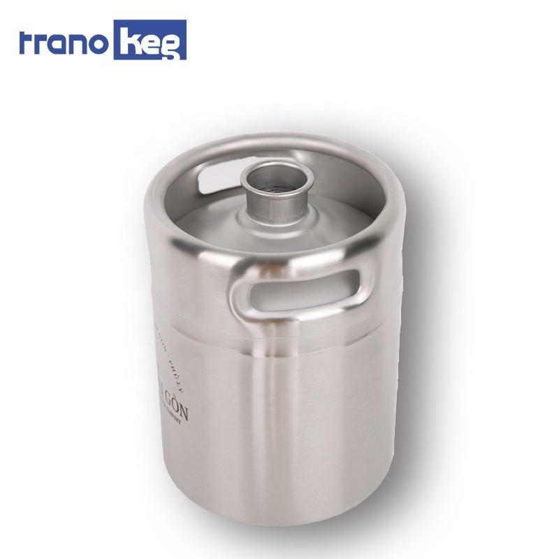 wholesale portable importar custom mini keg stainless steel draft beer keg 5l