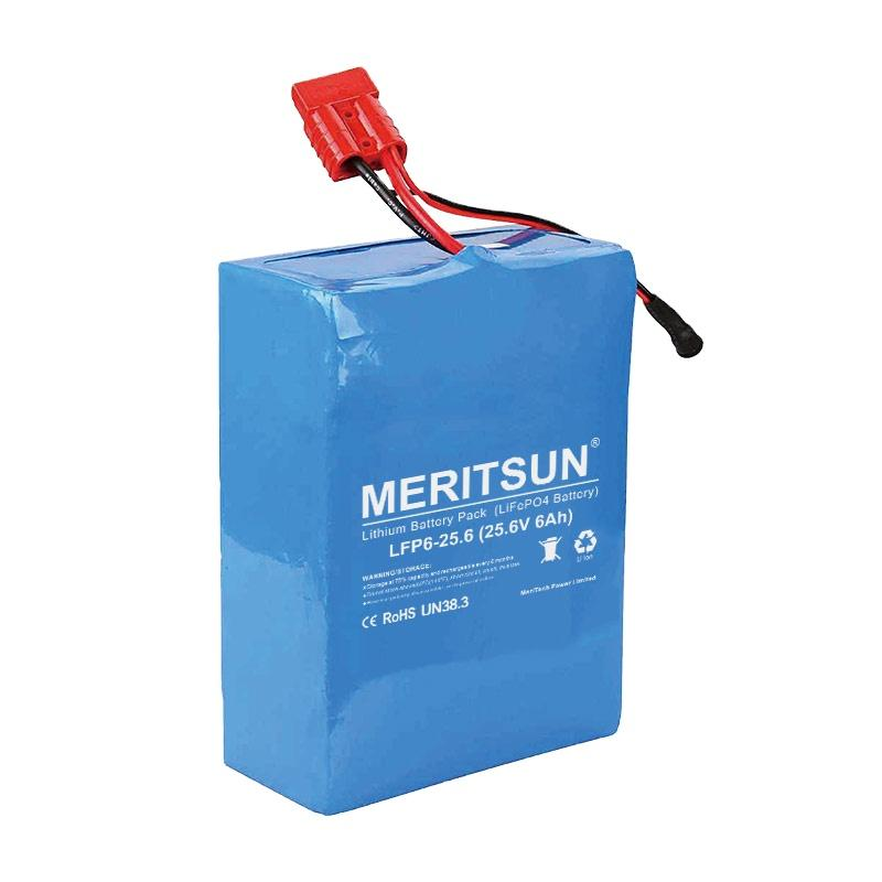 24V 25.6V 6Ah Lithium ion Lipo LiFePO4 Battery For Automatic Solar Tracking Mounting Solar Panel Tracker Power System