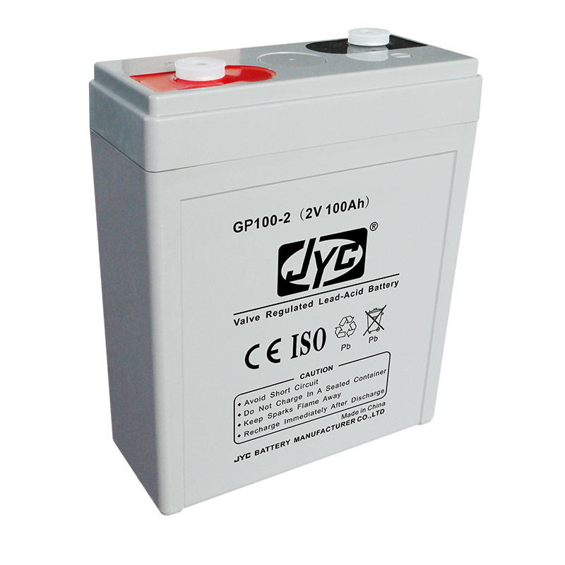 High quality gel battery 2V 100AH for solar wind EPS,UPS,signal emergency lighting systems with low price