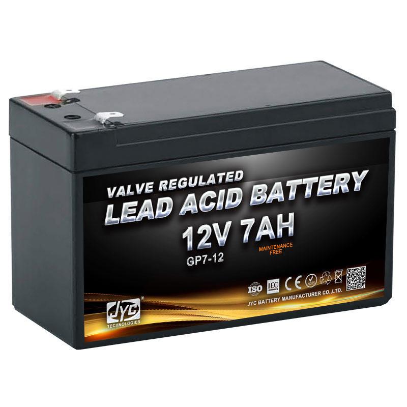 Maintenance Free Sealed Lead Acid Battery 12v 7ah 20hr UPS Battery