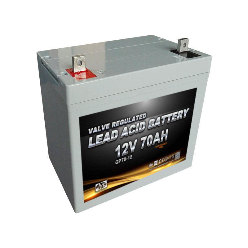 high battery lantern solar home system 12V70AH use for solar ups wind power