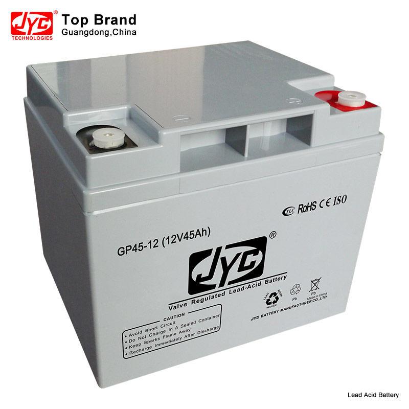 Maintenance Free Sealed Gel battery 12v 45ah 20hr UPS Battery