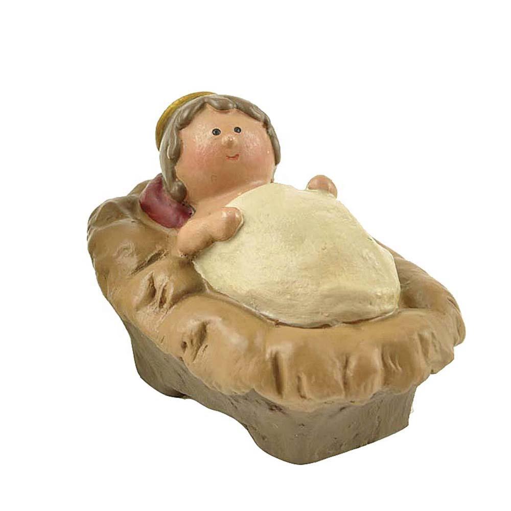 Hot sale christian resin decoration nativity figurine design baby Jesus