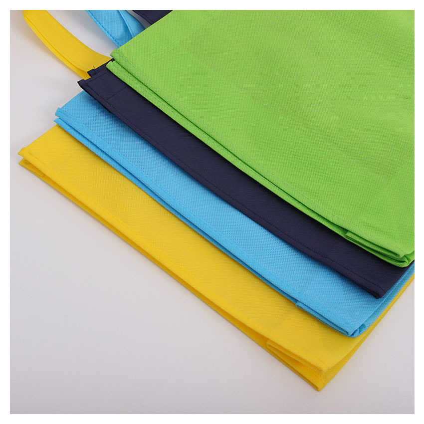 pp nonwoven bag making design and custom made nonwoven shopping bag with optional color