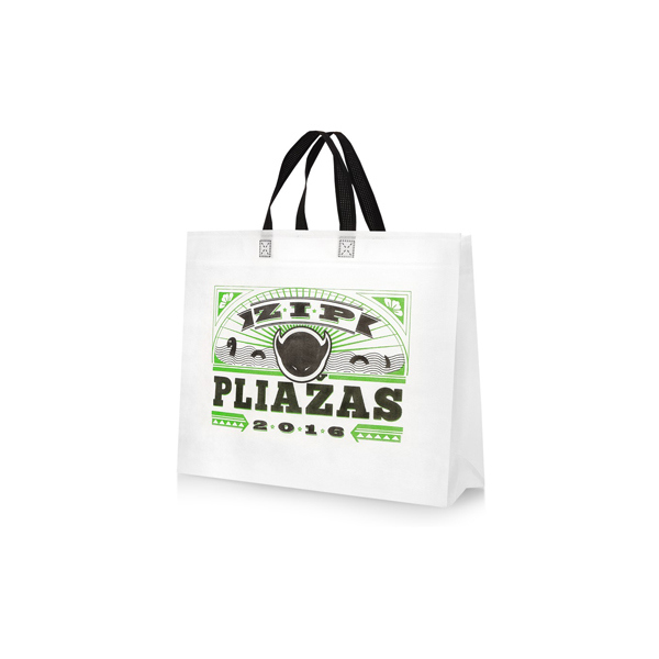 pp laminated nonwoven bag 100gsm waterproof shopping bag with printed used for shopping bag