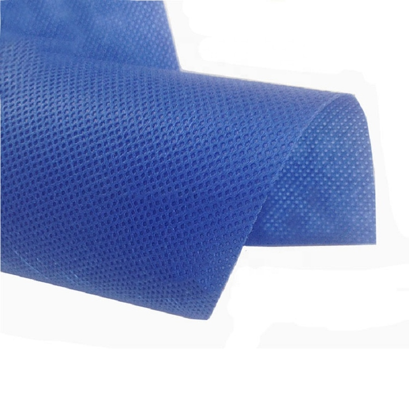 custom made nonwoven fabric roll 100% pp raw material with optional color for making supermarket shopping bag