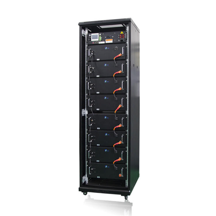 High voltage DC lithium-ion battery energy storage rack mount lifepo4 battery system