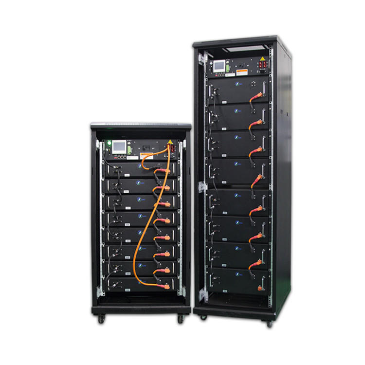 High voltage DC lithium ion backup power supply battery system
