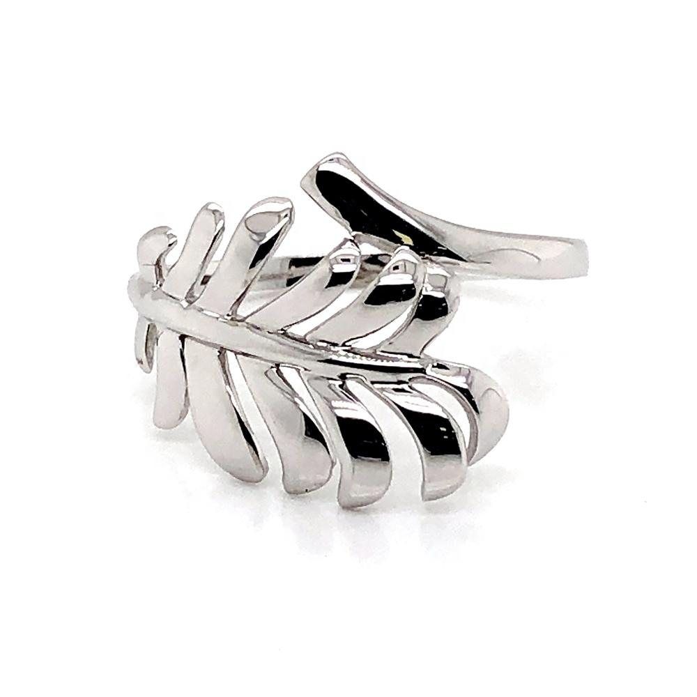 Lord Of The Rings Leaf, 925 Sterling Silver Sterling Leaf Branch Ring
