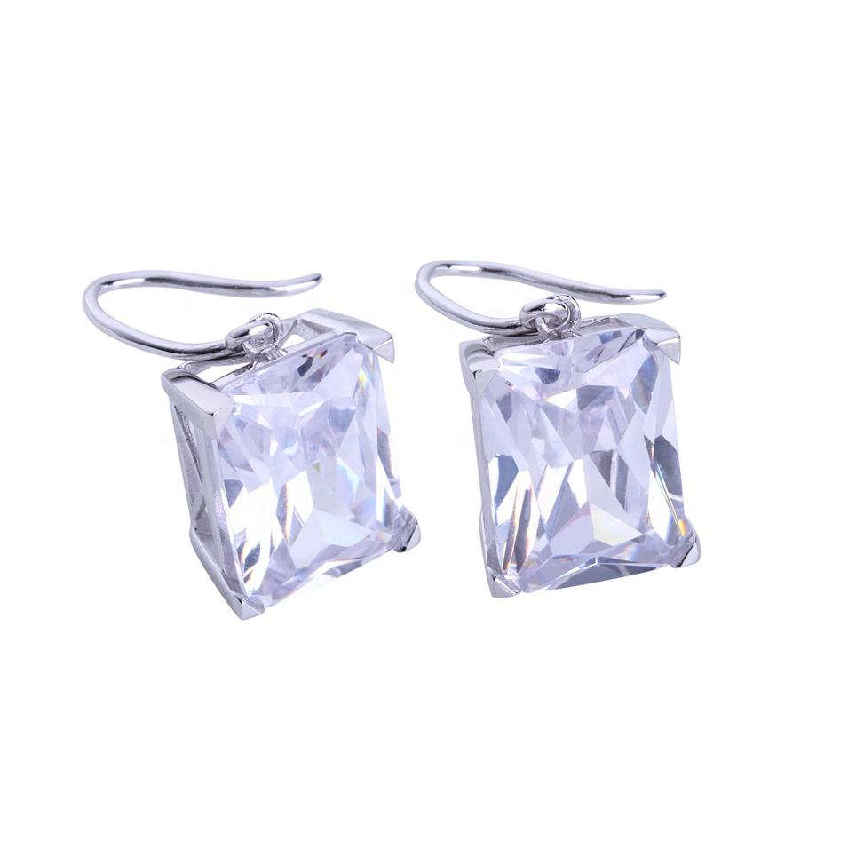 New Model Ladies Silver Fashion Earings For Women 2020