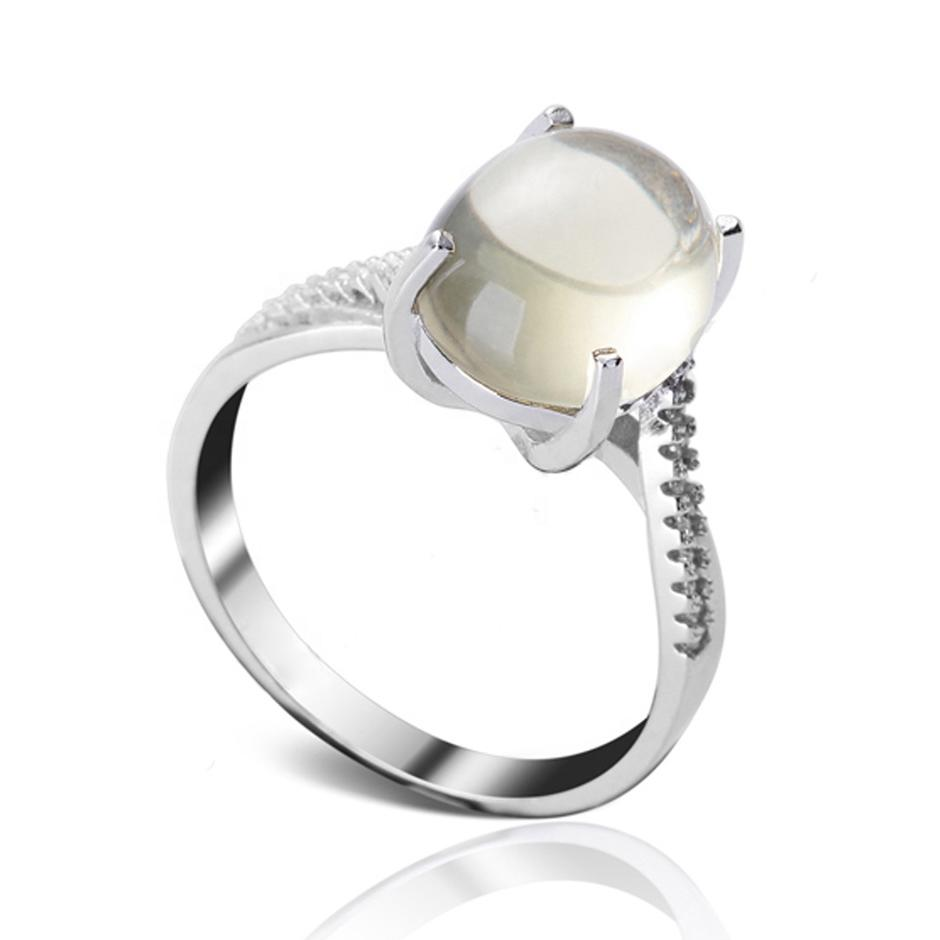Men Silver Ring 925 Natural Stone, Wholesale Silver 925 Men's Ring With Natural Stone