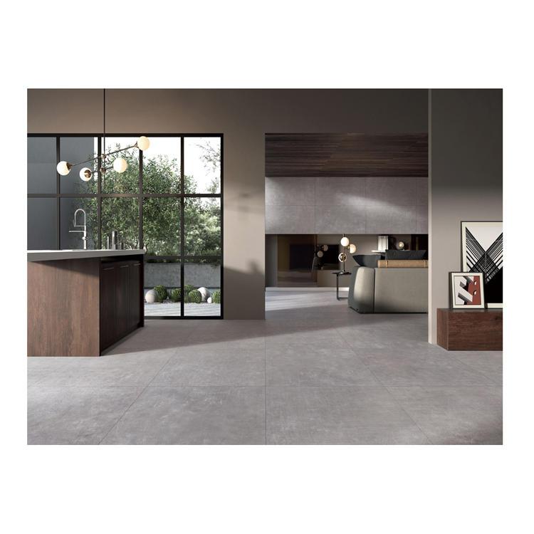 Grey rustic vietnam cement floor tile