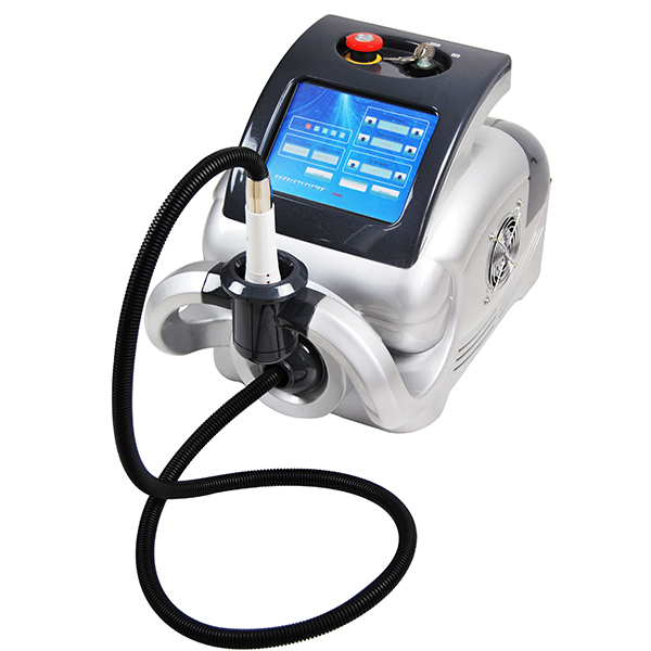 Portable IPL& RF machine with two treatment heads and 10 pieces filters