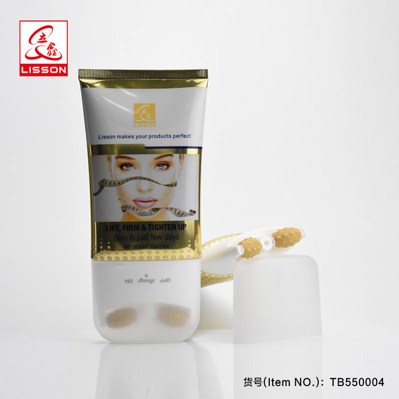 100-150ml roller ball tube cosmetic massage packaging container