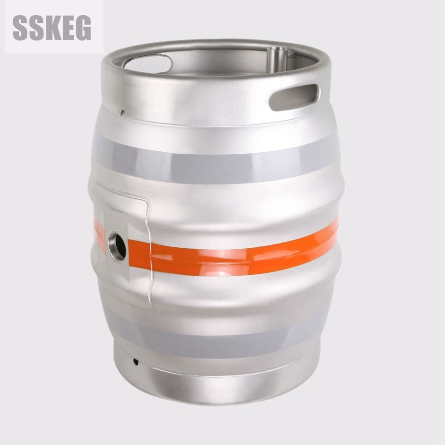 AISI 304 food grade Stainless Steel UK CASK 18 GALLON