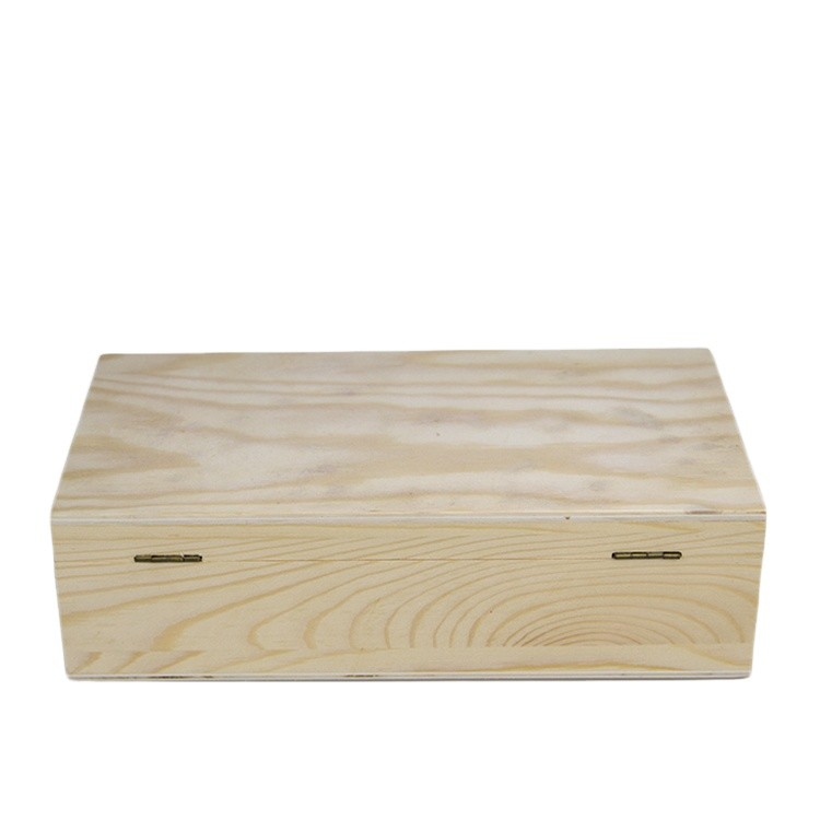 Customized creative handmade wooden wine boxes