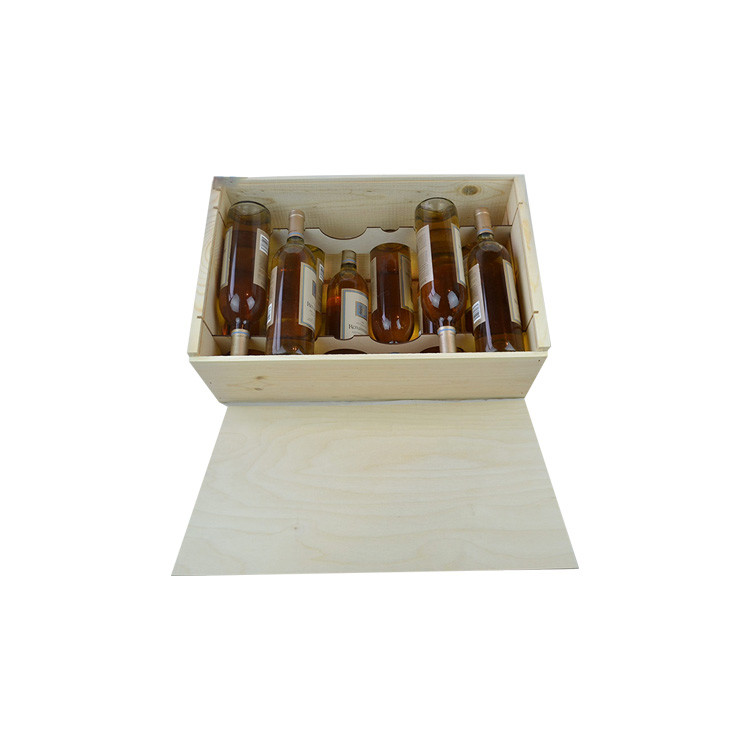New design Useful 12 bottle 750ml popular wine box for sale