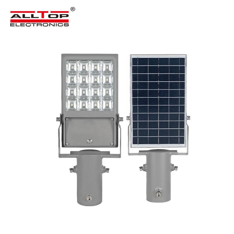 ALLTOP Outdoor waterproof advertising board lighting ip65 smd 8w 12w all in one led solar flood light