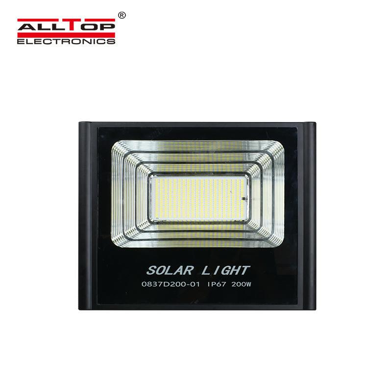 ALLTOP Energy Saving Outdoor lighting Aluminum 50 100 150 200 Watt Solar LED Flood Lighting