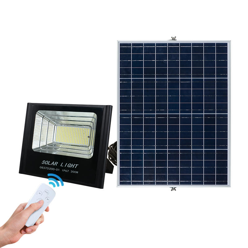 ALLTOP High lumen aluminum ip67 waterproof smd 200watt solar led flood lighting