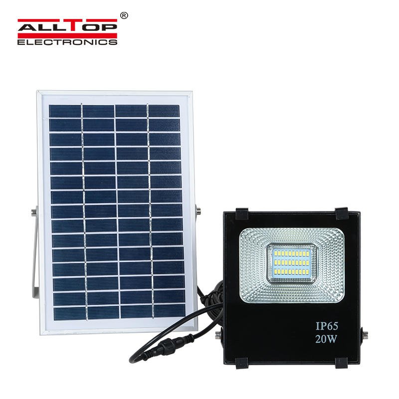 ALLTOP Outdoor bridgelux SMD IP65 Waterproof 10watt 20watt 30watt 50watt 100watt solar led flood light