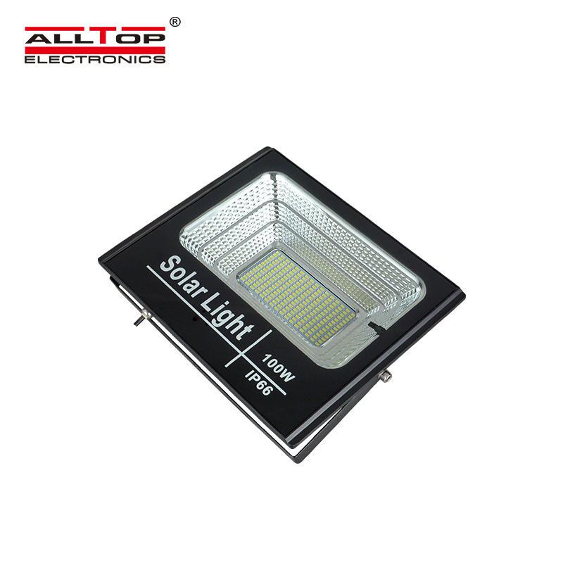 ALLTOP Hot sale Bridgelux waterproof ip66 outdoor lighting smd 25w 40w 60w 100w solar led flood light price