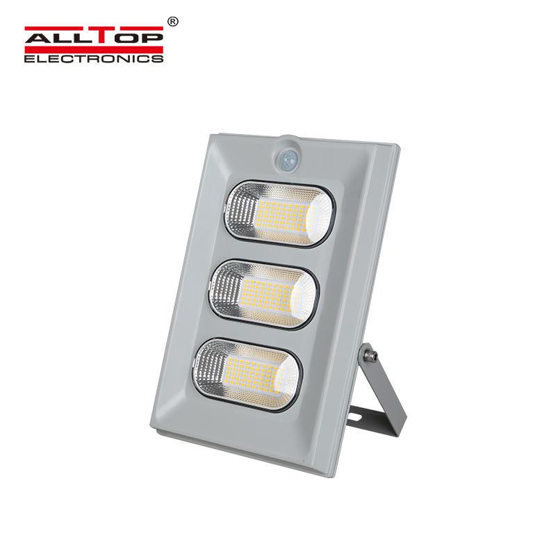 ALLTOP High lumen IP65 Waterproof Outdoor 50w 100w 150w solar led floodlight