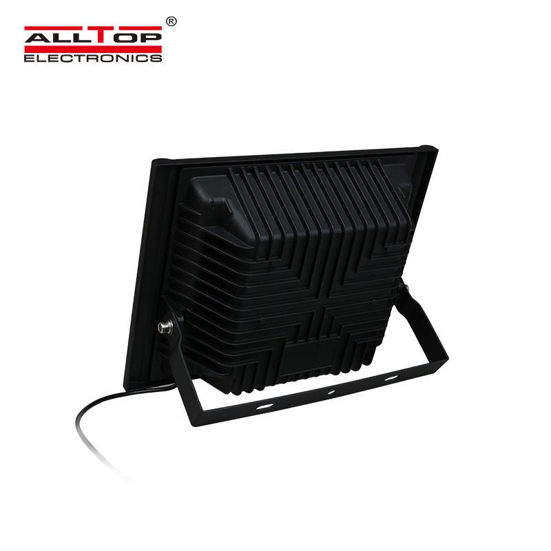 ALLTOP Hot sale portable outdoor waterproof IP67 50 100 150 200 w solar led floodlight