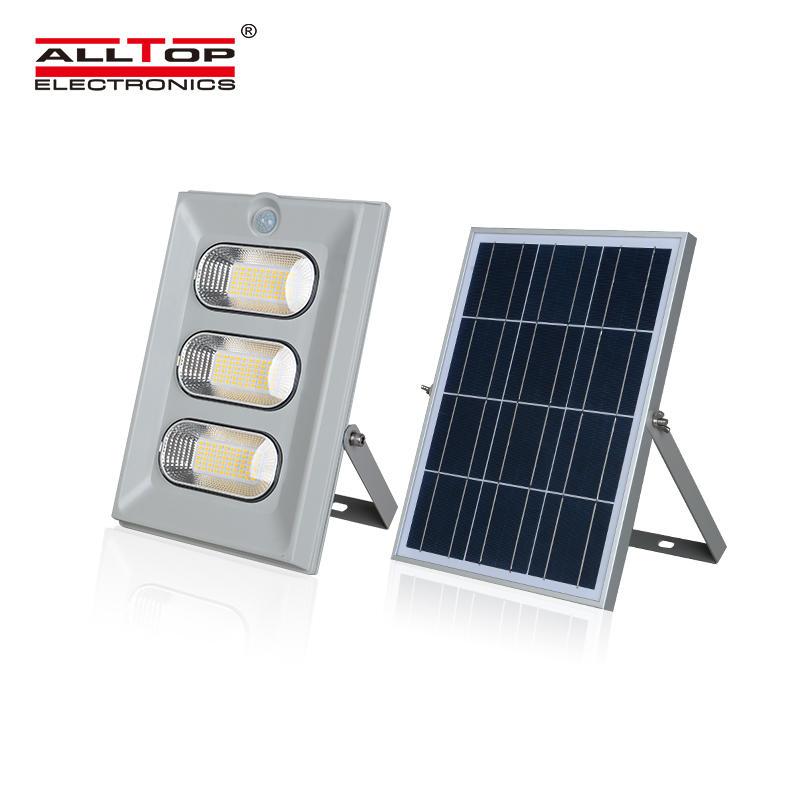 ALLTOP High lumen high bright ip66 outdoor waterproof camping SMD 50w 100w 150w led solar flood light