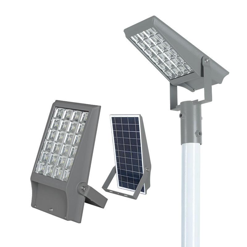 ALLTOP High power ip65 outdoor die casting aluminum 8watt 12watt solar led flood light