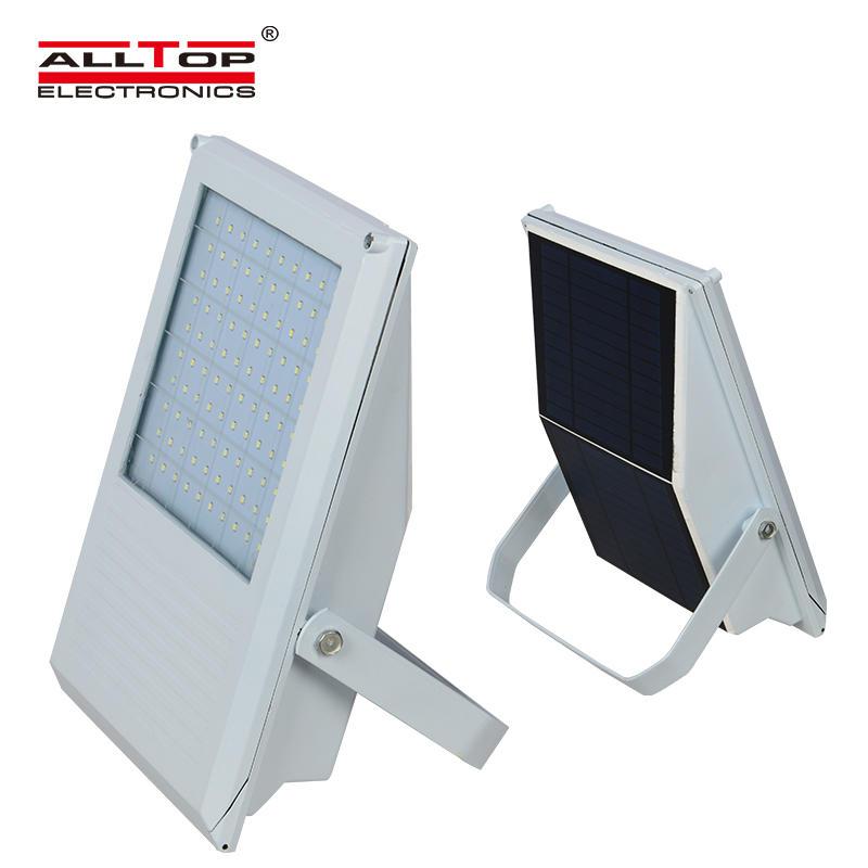 Aluminum bridgelux waterproof outdoor 7w solar led flood light