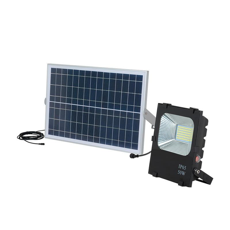 ALLTOP Exterior battery backup lamp 24vdc 50w 100w 200w emergency smd led solar flood light