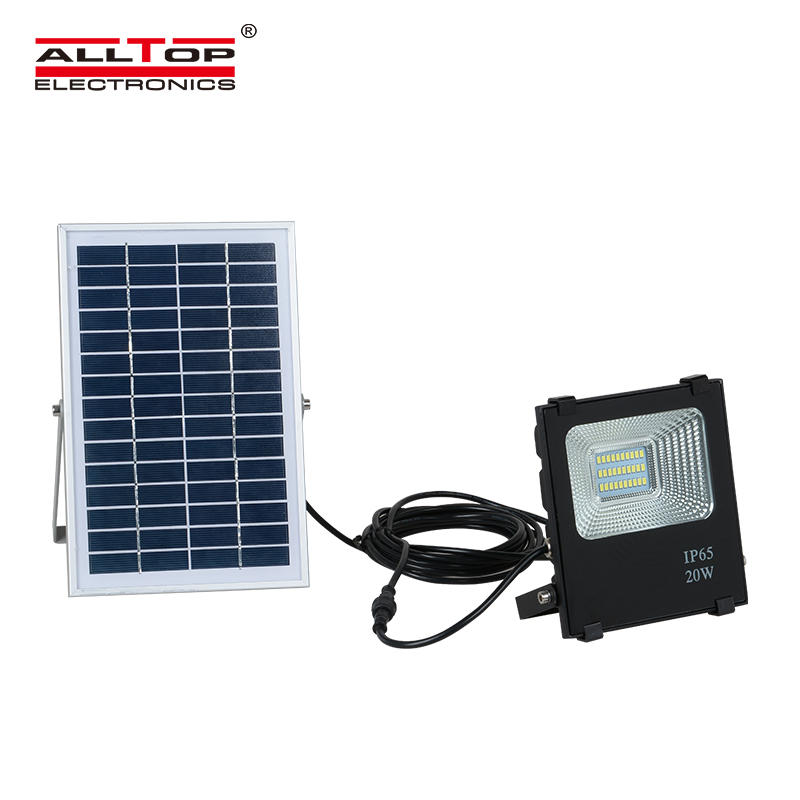 ALLTOP High lumen mini ip65 outdoor waterproof 10w 20w 30w 50w 100w solar led flood light