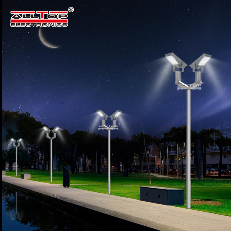 ALLTOP Factory price ip65 outdoor waterproof smd Aluminum Alloy 8w 12w led solar flood light