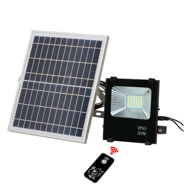 High quality tennis court rechargeable ip65 10w 20w 50w 100w 200w solar powered floodlight fixture