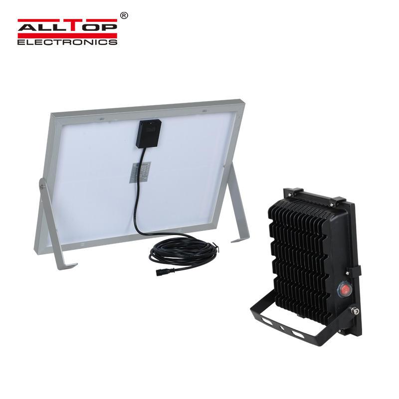 ALLTOP High quality outdoor ip65 smd 10w 20w 30w 50w 100w solar powered led flood light