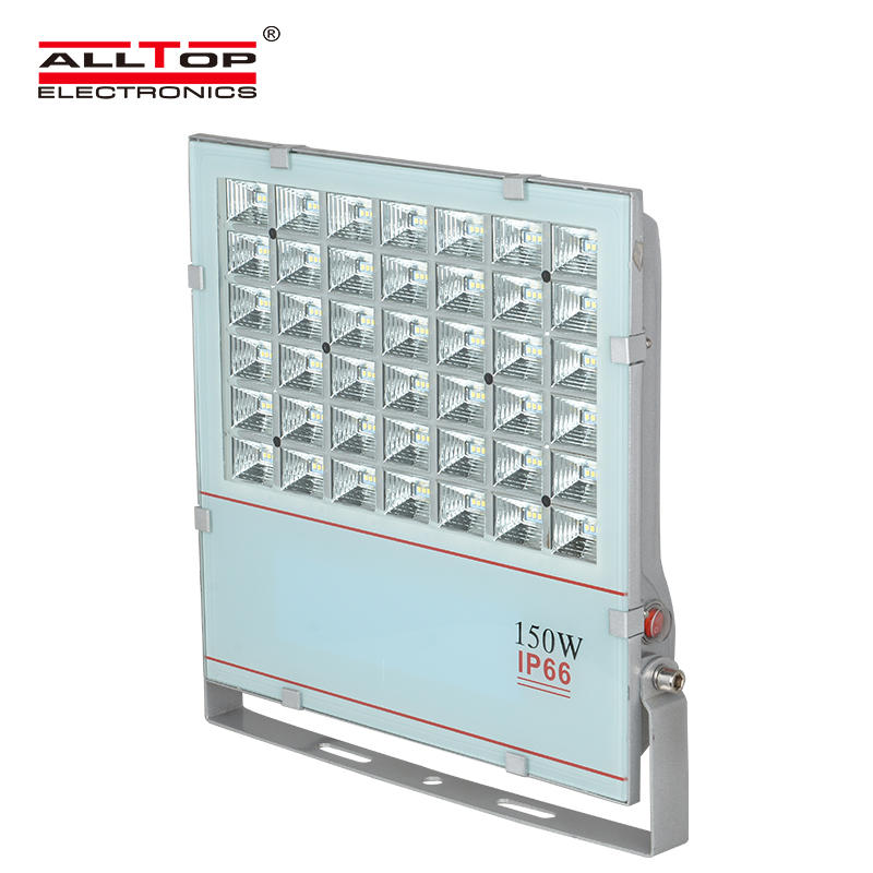 ALLTOP High power portable dimmable outdoor smd 150 led flood light