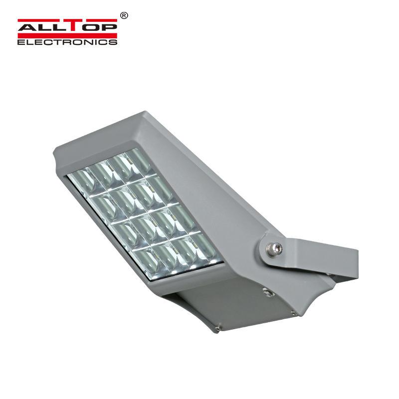 ALLTOP High lumen bridgelux smd 5730 waterproof ip65 outdoor 8w 12w led solar flood light