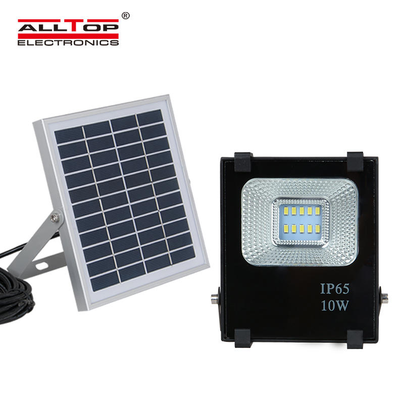 High power IP65 outdoor waterproof 10 20 30 50 100 watt bridgelux event parking lot led solar flood light