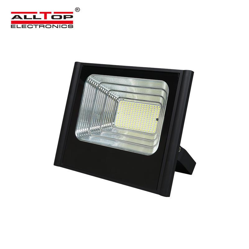 ALLTOP Factory direct sale landscape lighting waterproof ip67 50w 100w 150w 200w led solar flood light