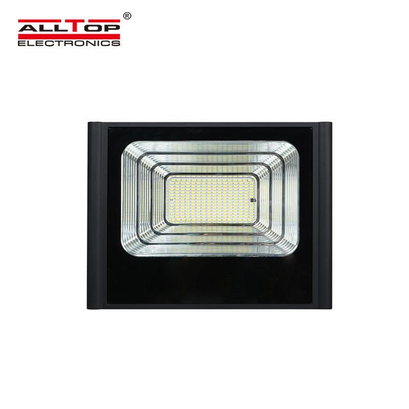 ALLTOP Hot selling slim waterproof ip65 smd 50w 100w 150w 200w solar led flood light