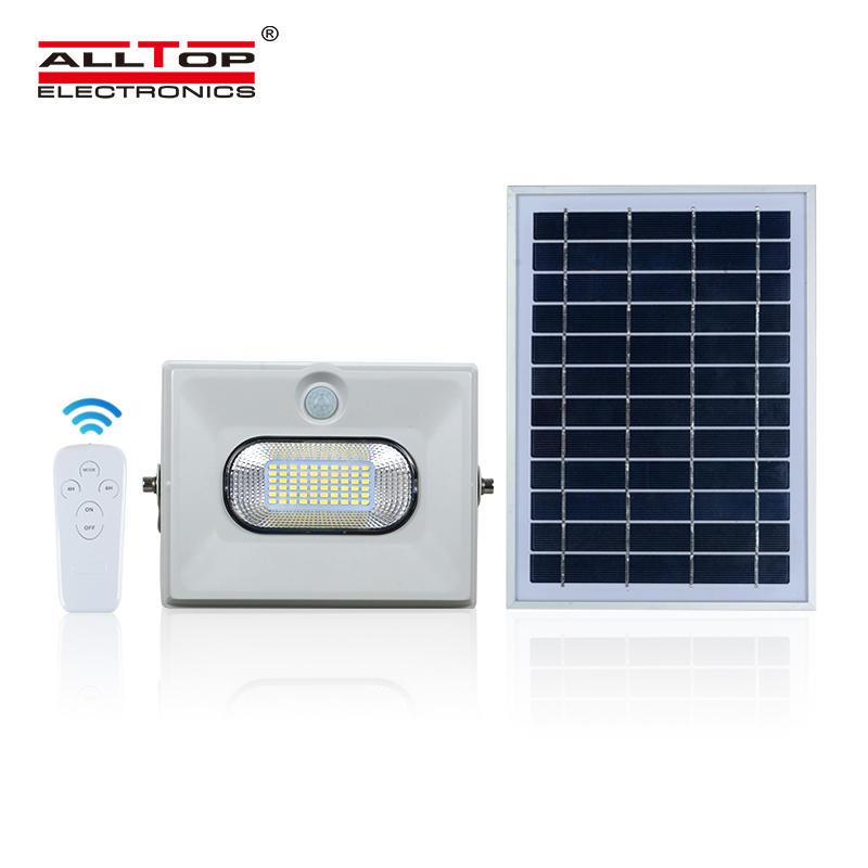 ALLTOP 2020 Newest product ABS waterproof 50w 100w 150w led solar flood light