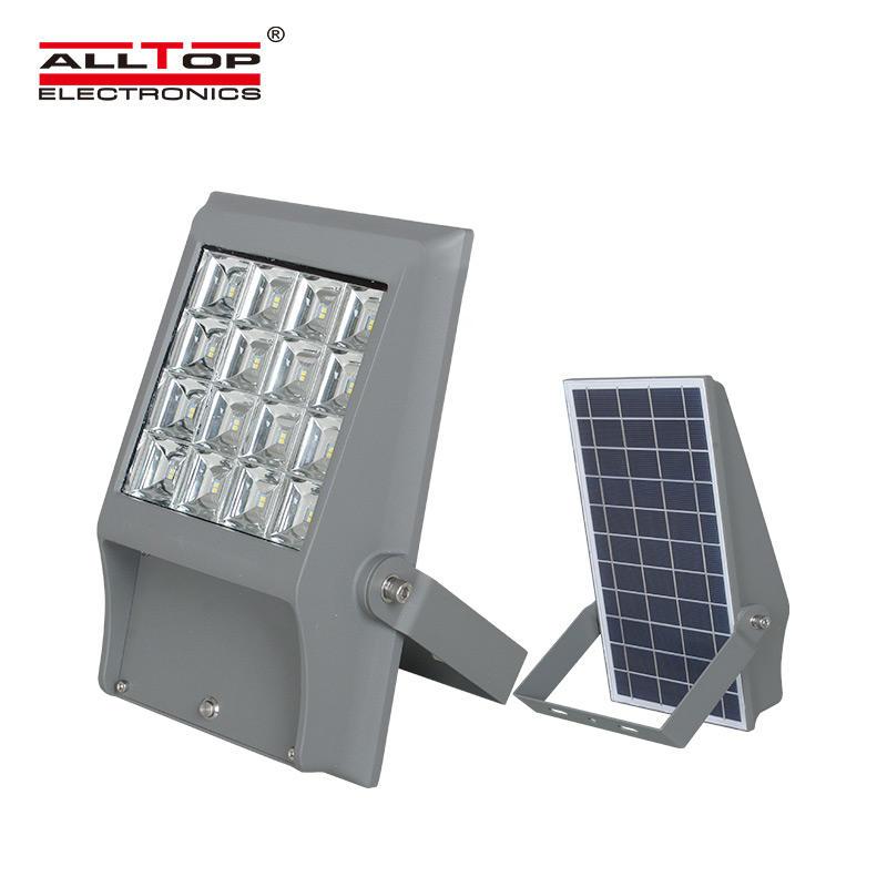 High quality 8w 12w Bridgelux SMD outdoor waterproof ip65 LED solar flood light