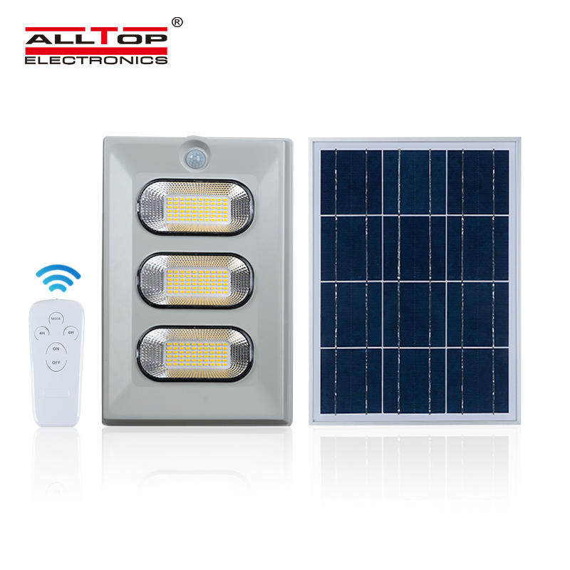 ALLTOP Energy saving waterproof ip65 outdoor lighting 50w 100w 150w led solar flood light price