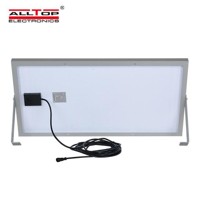 High power IP65 outdoor waterproof 10 20 30 50 100 watt bridgelux event parking lot led solar flood light