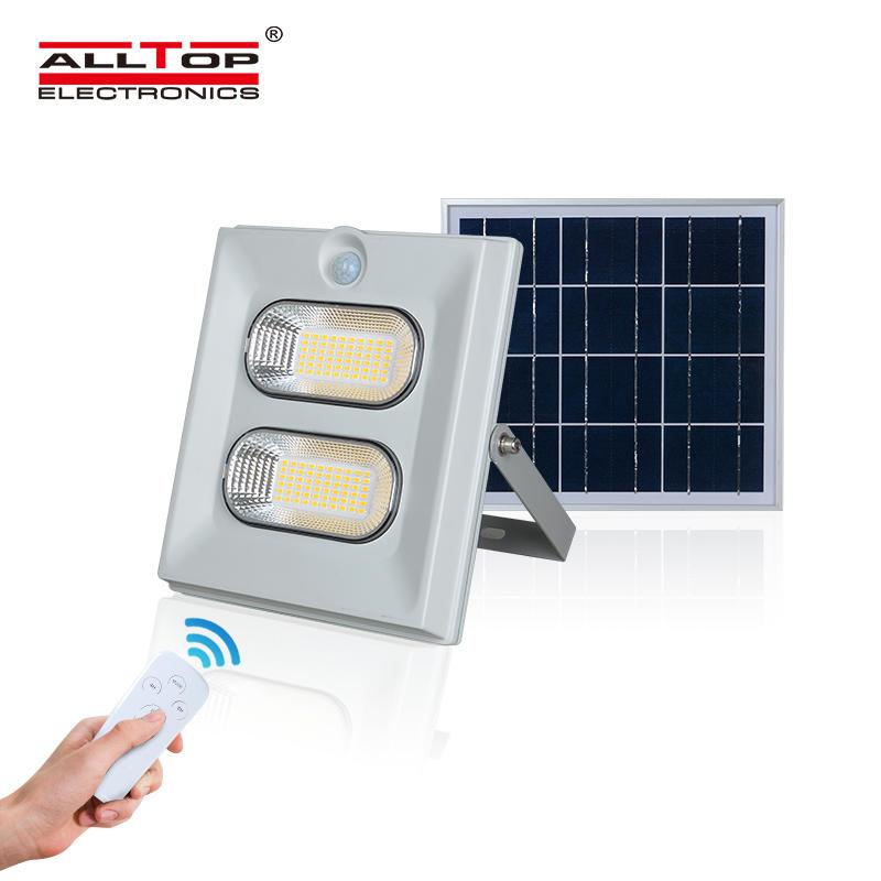 ALLTOP High brightness smd epistar stadium outdoor lighting waterproof ip65 50w 100w 150w solar led floodlight