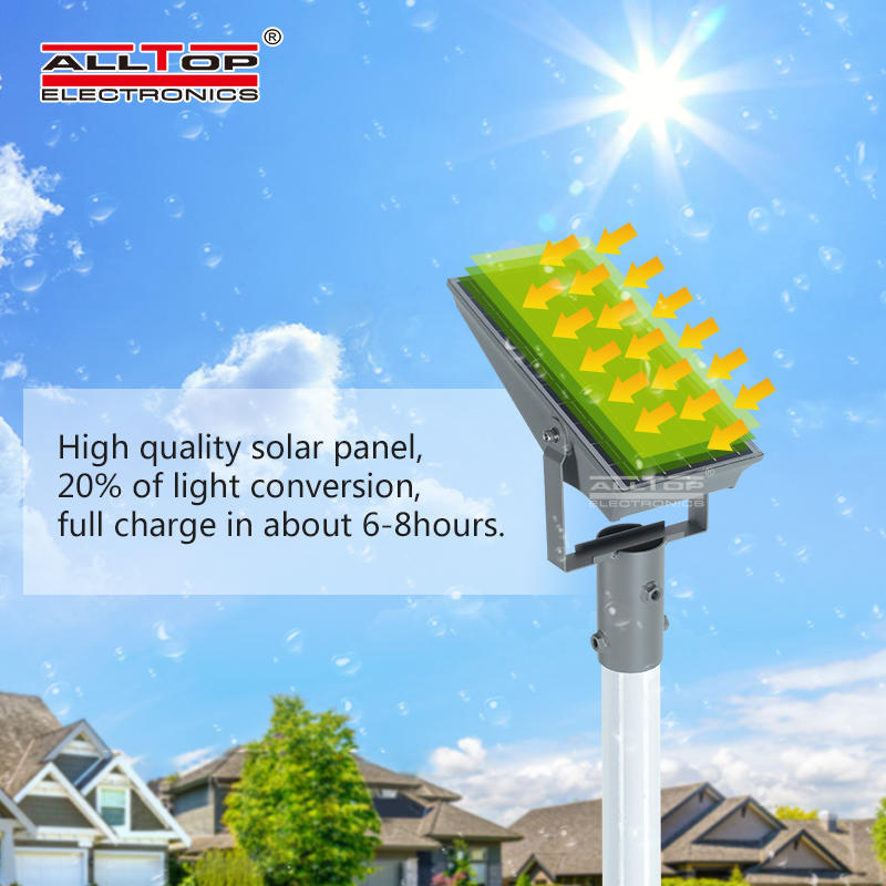 ALLTOP High quality high power IP65 Outdoor waterproof 8w 12w dimmable led flood light
