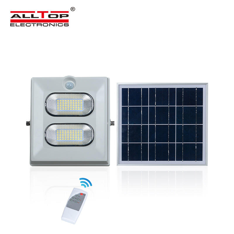 ALLTOP High lumen waterproof ip65 ABS 50watt 100watt 150watt solar led flood light