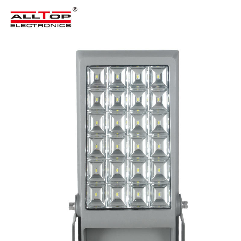 ALLTOP Super brightness ip65 waterproof outdoor advertising board lighting smd 8w 12w led solar flood light