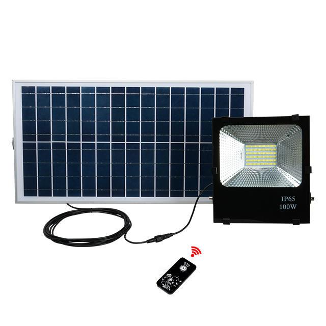 IP65 waterproof outdoor smd 10w 20w 30w 50w 100w solar led floodlight